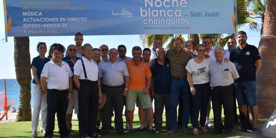 Por segundo año consecutivo, los Chiringuitos de Fuengirola serán protagonistas en la Noche de San Juan