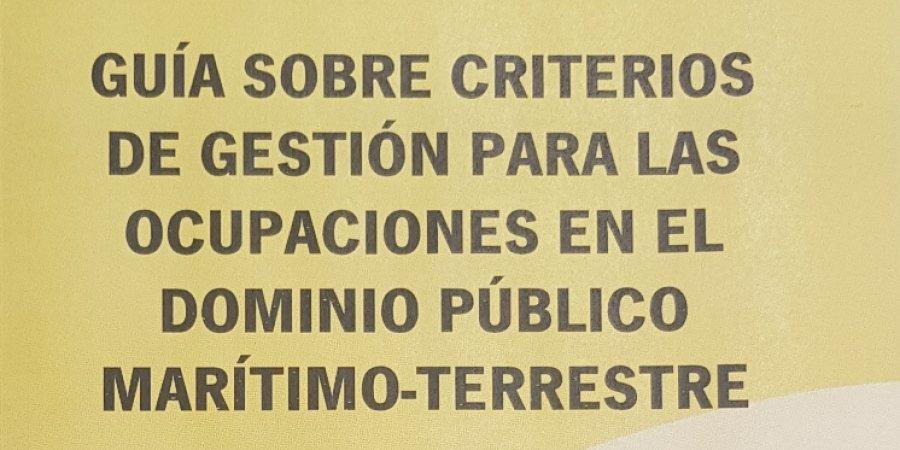 GUÍA DE CRITERIOS DE GESTIÓN PARA OCUPACIONES EN DPMT